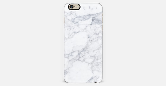 White Marble Iphone 6 Case By Designonfleek Casetify