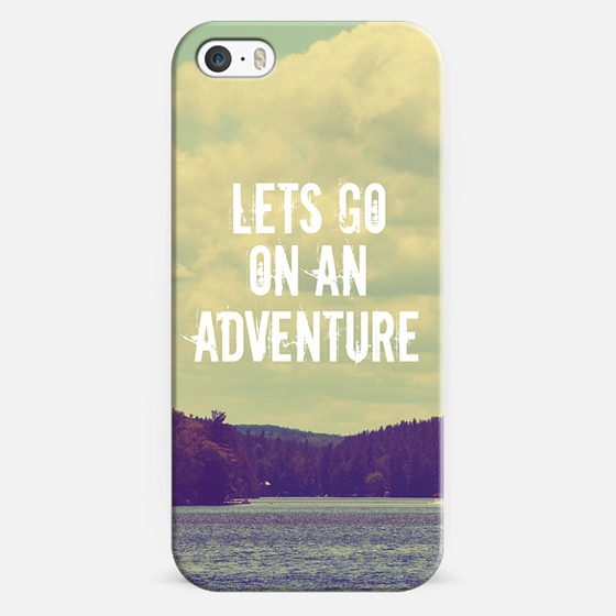 Let's Go On An Adventure - Classic Snap Case