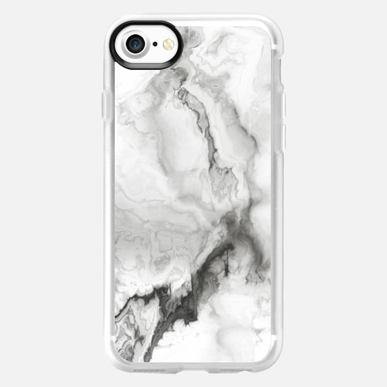 White Marble - Wallet Case