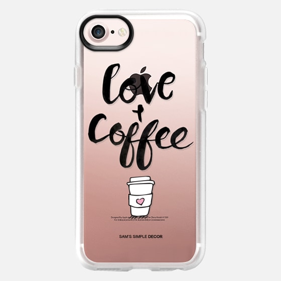 Love and Coffee  - Wallet Case