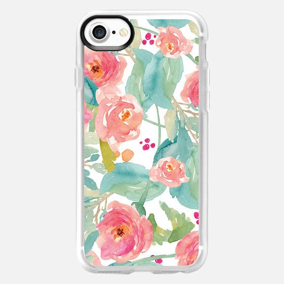 Wild Watercolor Flower Iphone Case - Wallet Case