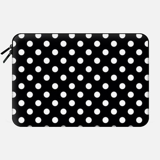 polka dots sleeve - Macbook Sleeve