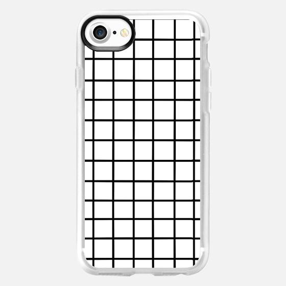 Elegant Grid - Wallet Case
