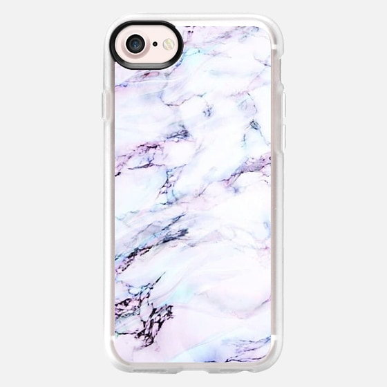 Amethyst marble love - Classic Grip Case
