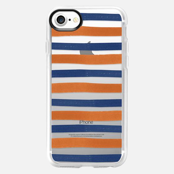 Auburn Stripe - Wallet Case