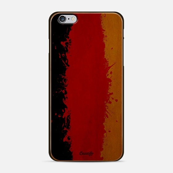 Germany flag spatter - Classic Snap Case