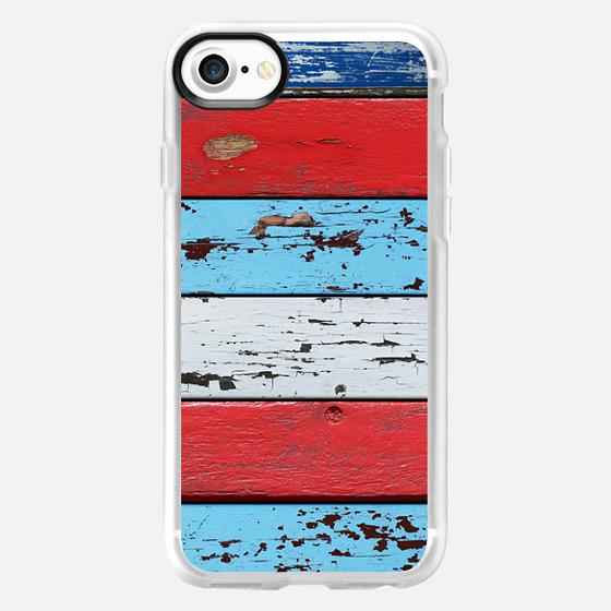 Multi Colored Wood -
