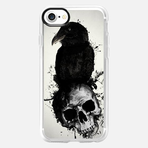 Raven and Skull - Wallet Case