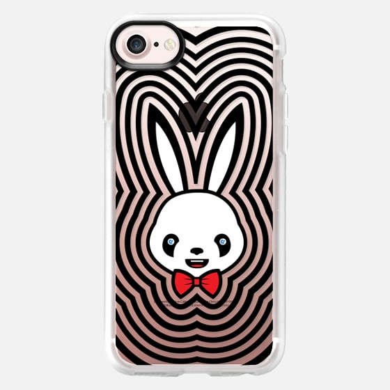 The Panda Rabbit Psychedelic (clear background) -
