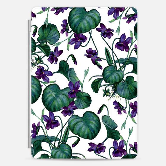 Violets iPad Case -