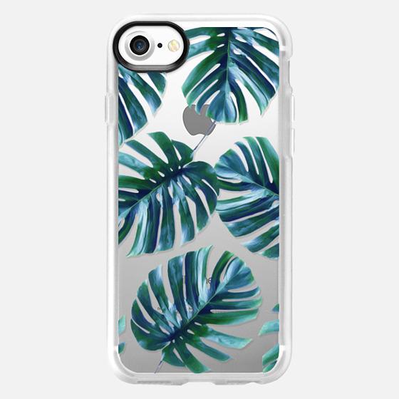 Monstera Pattern #casetify iPhone & iPod Case - Wallet Case