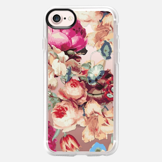 Floral Crush iPhone & iPod Case - Wallet Case