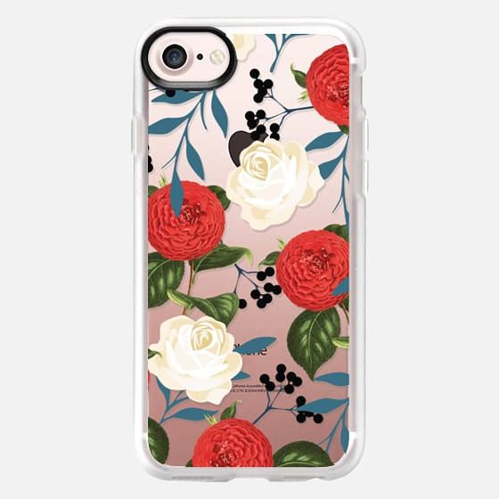 Floral Obsession iphone and ipod Case - Wallet Case