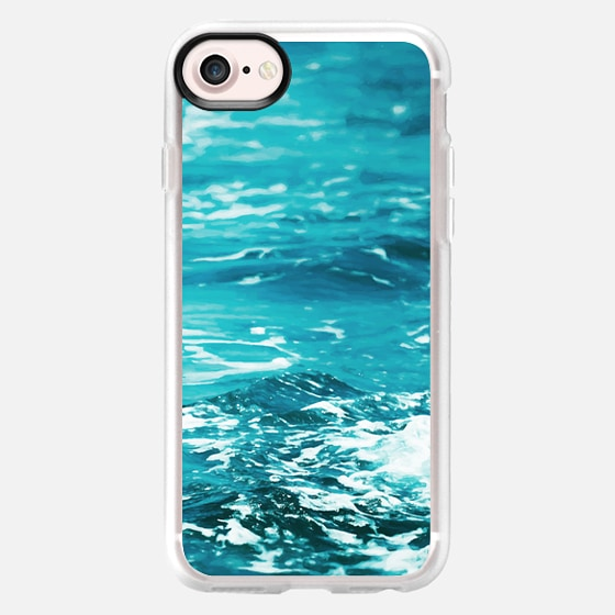 Oceanology iPhone and iPod Case - Wallet Case