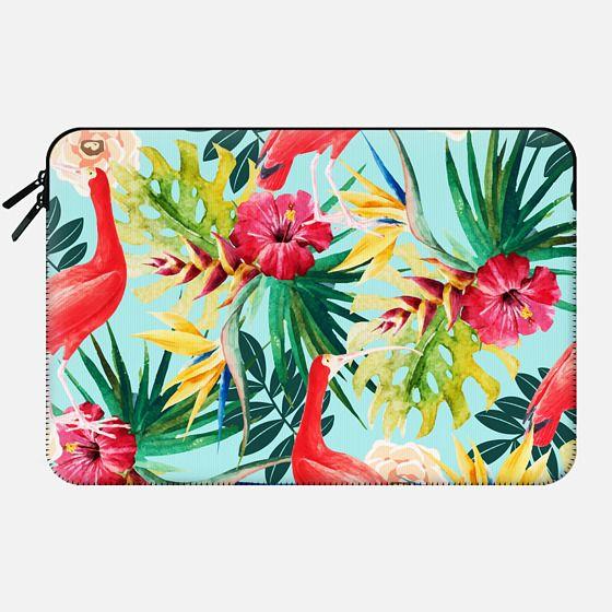 Hawaiian Vibe Macbook pro and Clutch - Macbook Sleeve