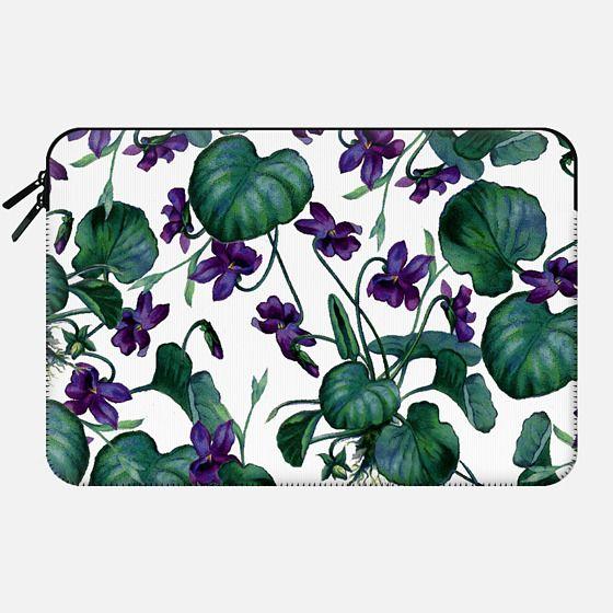 Violets Macbook Case - Macbook Sleeve