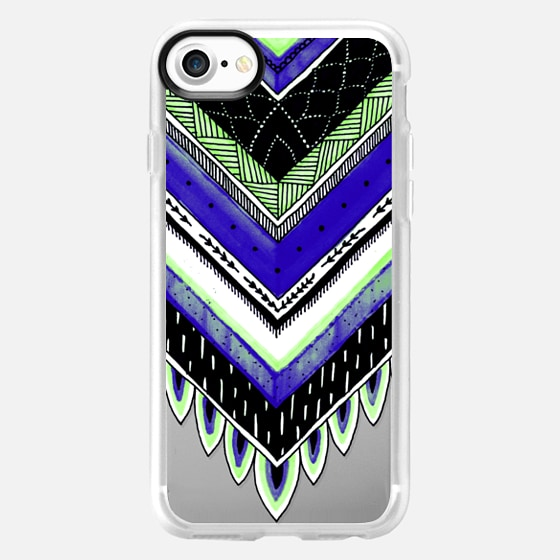 Tribal Feathers 5 - Wallet Case