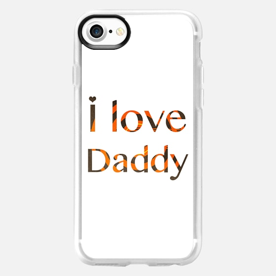 I love daddy - Happy Father's Day - Wallet Case