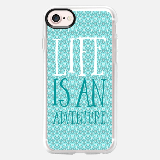 Life is an adventure - Classic Grip Case