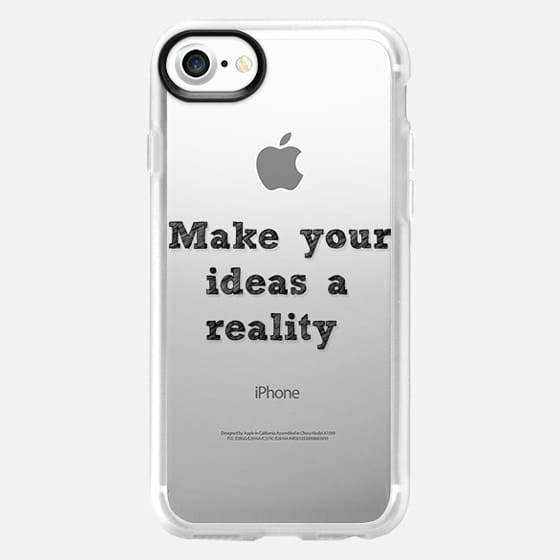 Make your ideas a reality - Back to school -