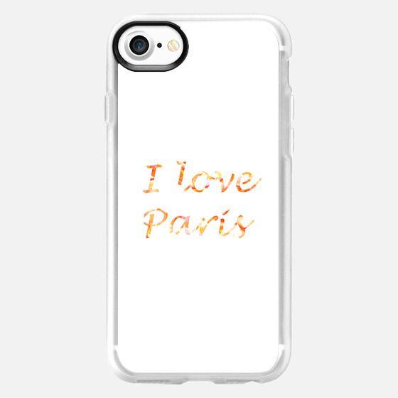 I love Paris -
