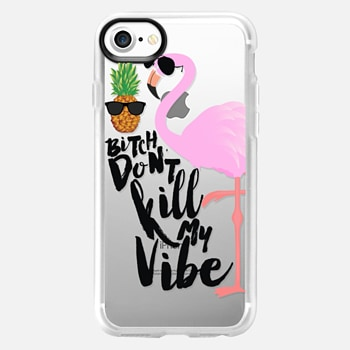 iPhone 7 Case Flamingo Vibe
