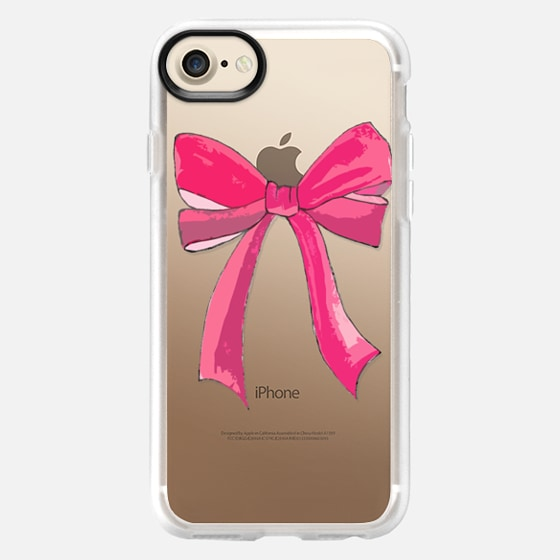 Tied with a bow. - Wallet Case