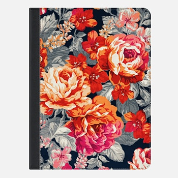 "iPad Pro 9.7"" Case Red Flowers"