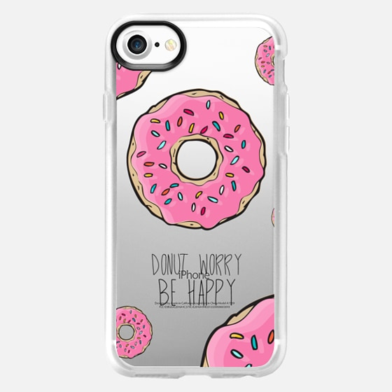 Donut Worry, Be Happy - Wallet Case