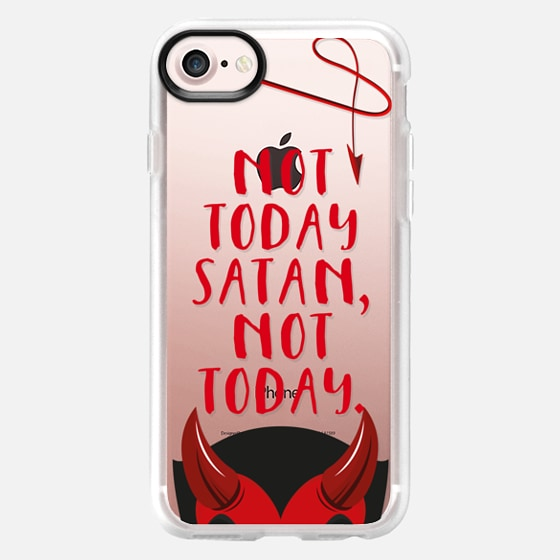 Not today Satan, not today. - Wallet Case