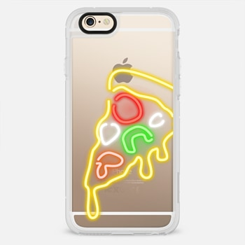 iPhone 6 Case Neon Pizza Slice