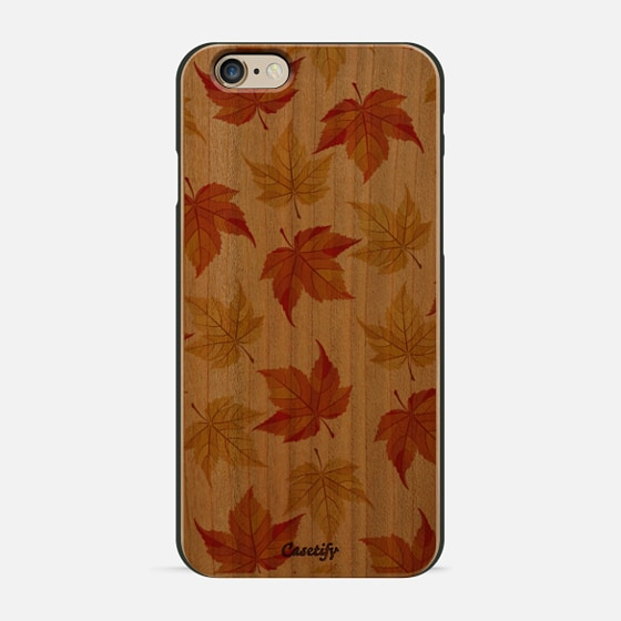 Fall Leaves Pattern- Transparent -