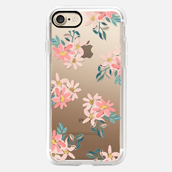 iPhone 7 Case Pink Daisies
