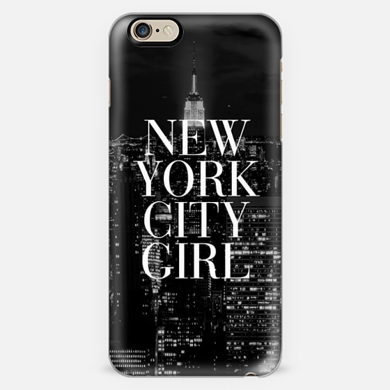 New york city girl black white manhattan skyline iphone for Case vacanza a new york manhattan