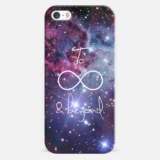 To Infinity and Beyond Galaxy Nebula Stars - Classic Snap Case