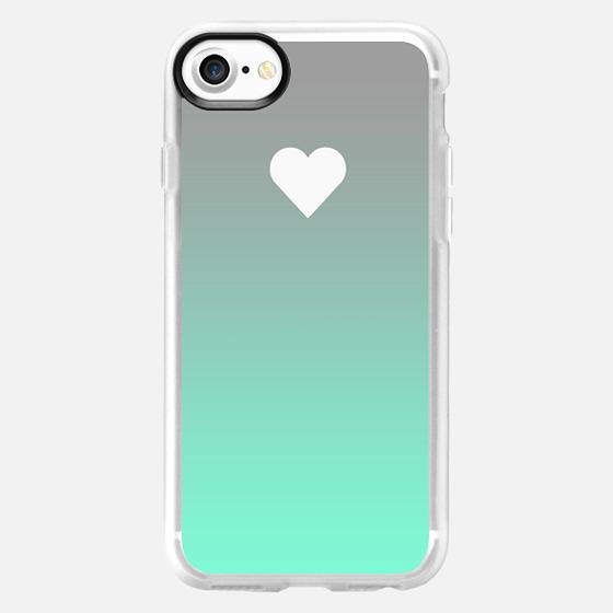 Tiffany Fade Apple Heart -