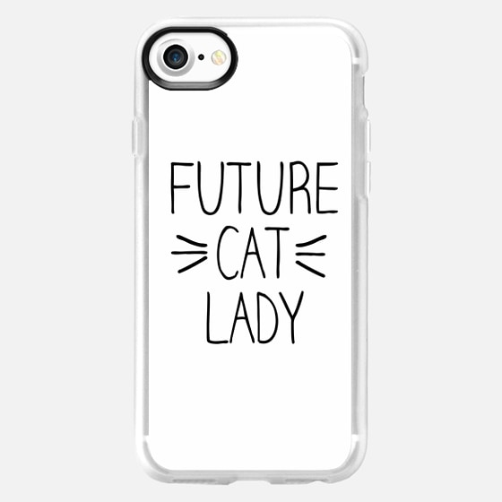 Future Cat Lady Whiskers -