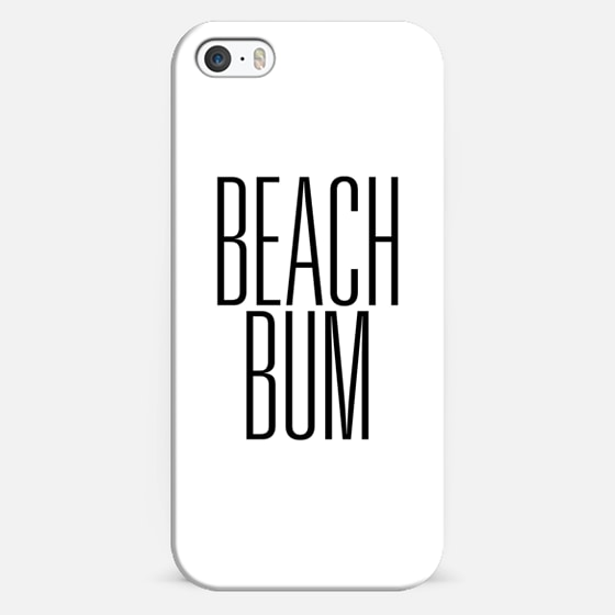 Beach Bum Early 90's Typography -