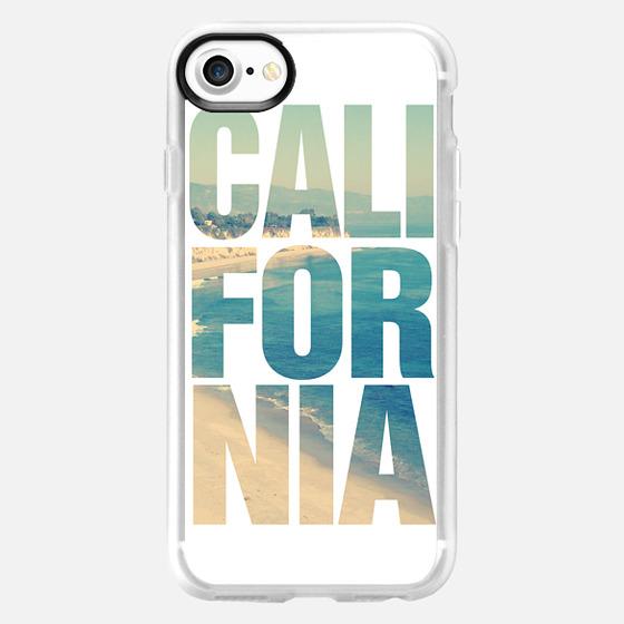 California Vintage Beach Typography iPhone 6 Case - Wallet Case