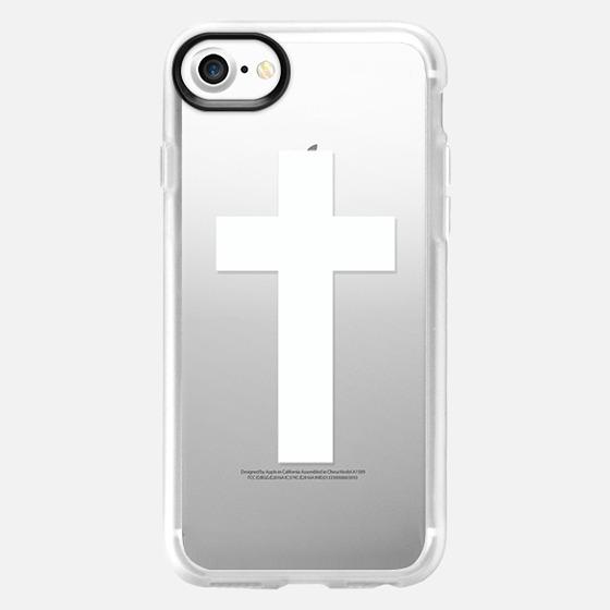 White Cross - Wallet Case