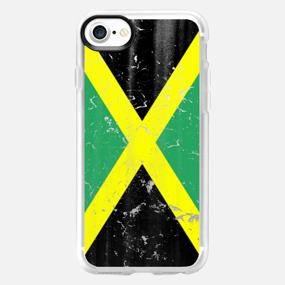 Vintage Jamaican Flag - Wallet Case