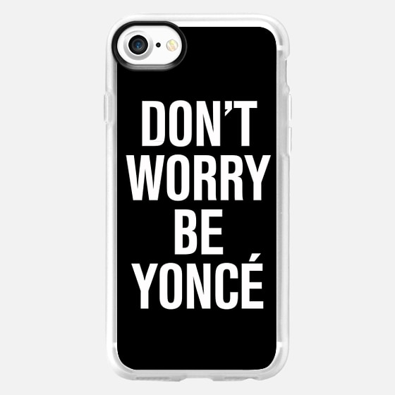 Don't Worry Be Yoncé Typography - Wallet Case