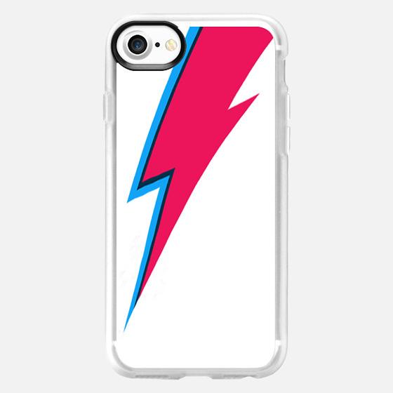 Bowie Lightning Bolt iPhone Case -