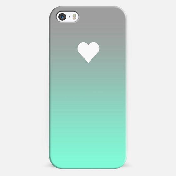 Tiffany Fade Apple Heart - Classic Snap Case