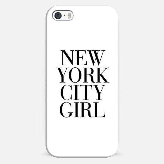 New York City Girl Vogue Typography -