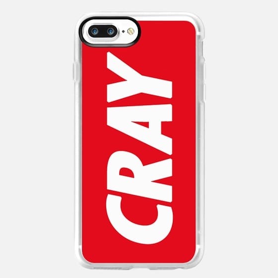 Cray Obey Red - Classic Grip Case