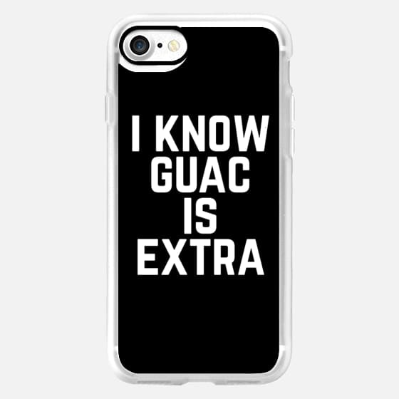 I know Guac is Extra Typography -