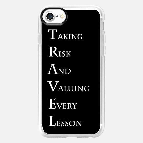 T.R.A.V.E.L - Classic Grip Case