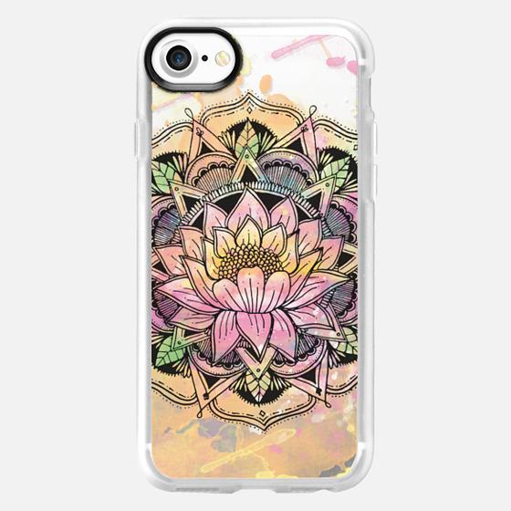 Rise in the mud lotus Mandala - Wallet Case