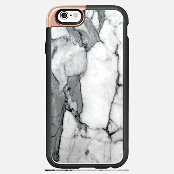 iPhone 6s Case Classic Grey Marble - Graphic by D